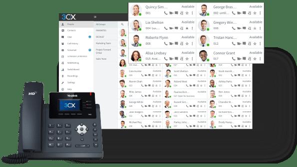 Dashboard 3CX PBX